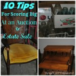 10 Tips for Scoring Big at an Auction or Estate Sale