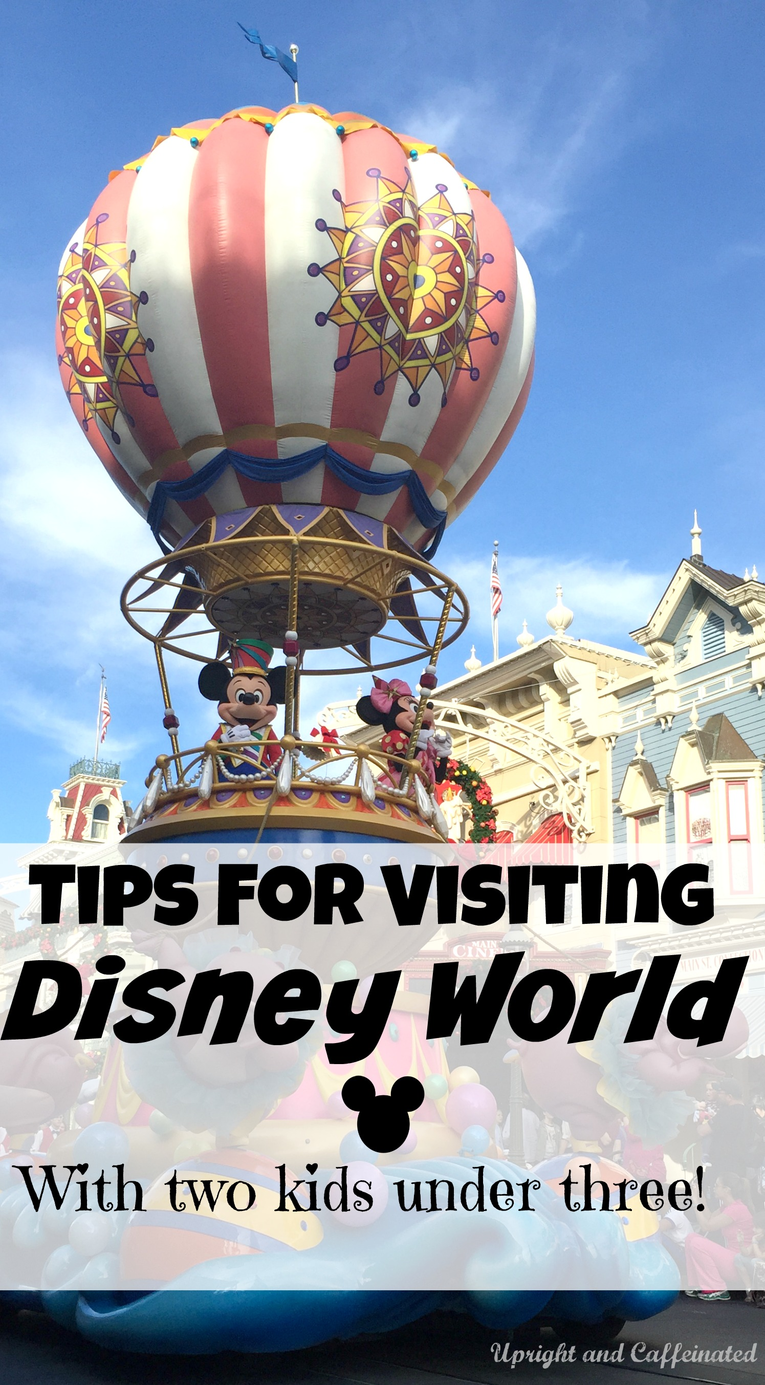 Visiting Walt Disney World With Two Kids Under Three