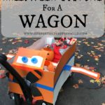 Halloween Costume for a Wagon