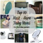 Top 10 must have baby items for first time parents