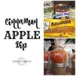 Cinnamon Apple Dip- The perfect and simple gift for teachers, neighbors and co-workers.