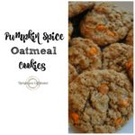 This Pumpkin Spice Oatmeal Cookies recipe is the BEST cookie recipe you will try this Fall!