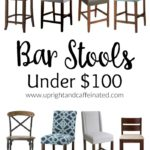 Check out these awesome bar stools all under $100!