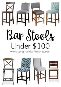 These awesome bar stools are all under $100!