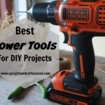 Do you like to DIY? Want to know which power tools to buy? I have a list of the best power tools for DIY projects!
