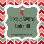 Stocking Stuffers under ten dollars. Upright and Caffeinated