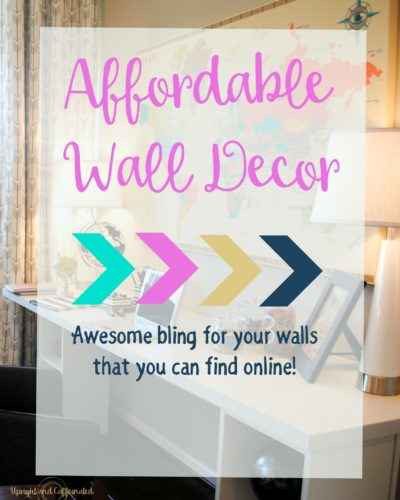 Affordable Wall Decor