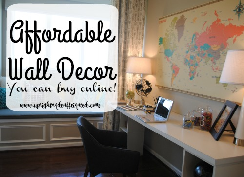 Affordable Wall Decor you can find online!! Check it out!
