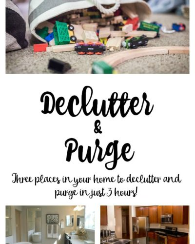 Declutter and Purge