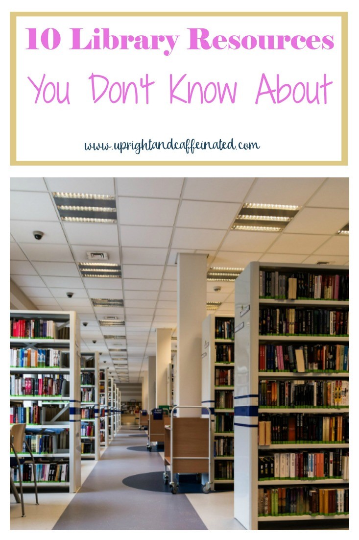 This is a great list of library resources I didn't know existed! I had no idea about number 6!