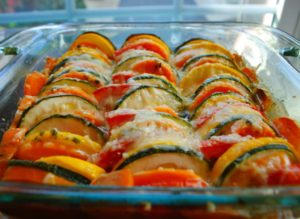 This is the absolute best way to enjoy summer vegetables. This is the best side dish for a picnic. Always the first dish to get eaten up!