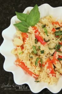 This is a unique side dish that is sure to be a hit at your next picnic!