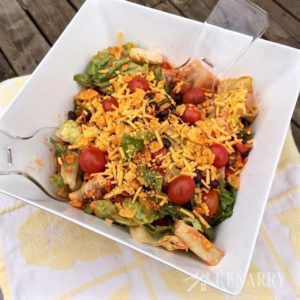 Unique salads are always a hit at picnics. This is one of the best side dishes for entertaining!