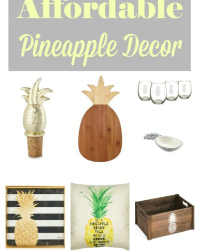 Affordable Pineapple Decor You Can Find Online