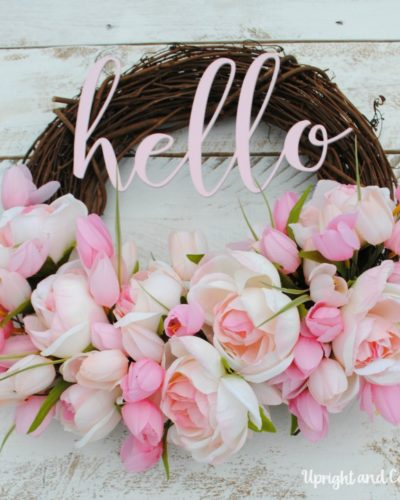 Hello! Summer Wreath