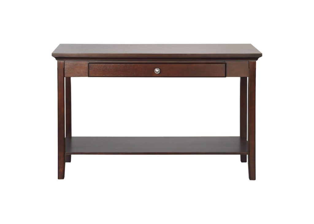 This classic entryway table would look great in any home.