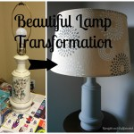 Beautiful DIY Lamp Transformation
