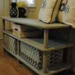 Repurposed Entryway Bench