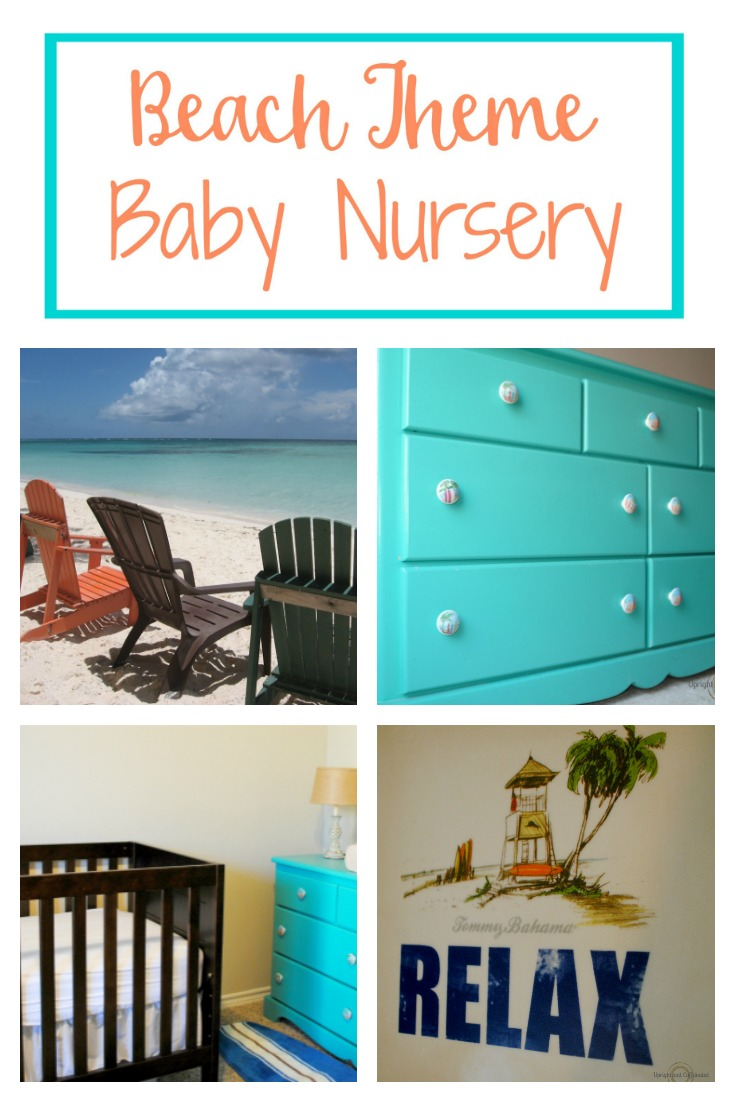 Beach Theme Baby Nursery Surf Inspired Upright And