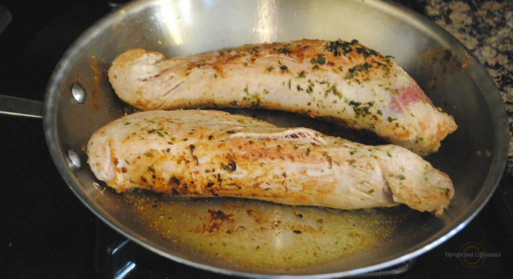 Browning Roasted Pork Tenderloin