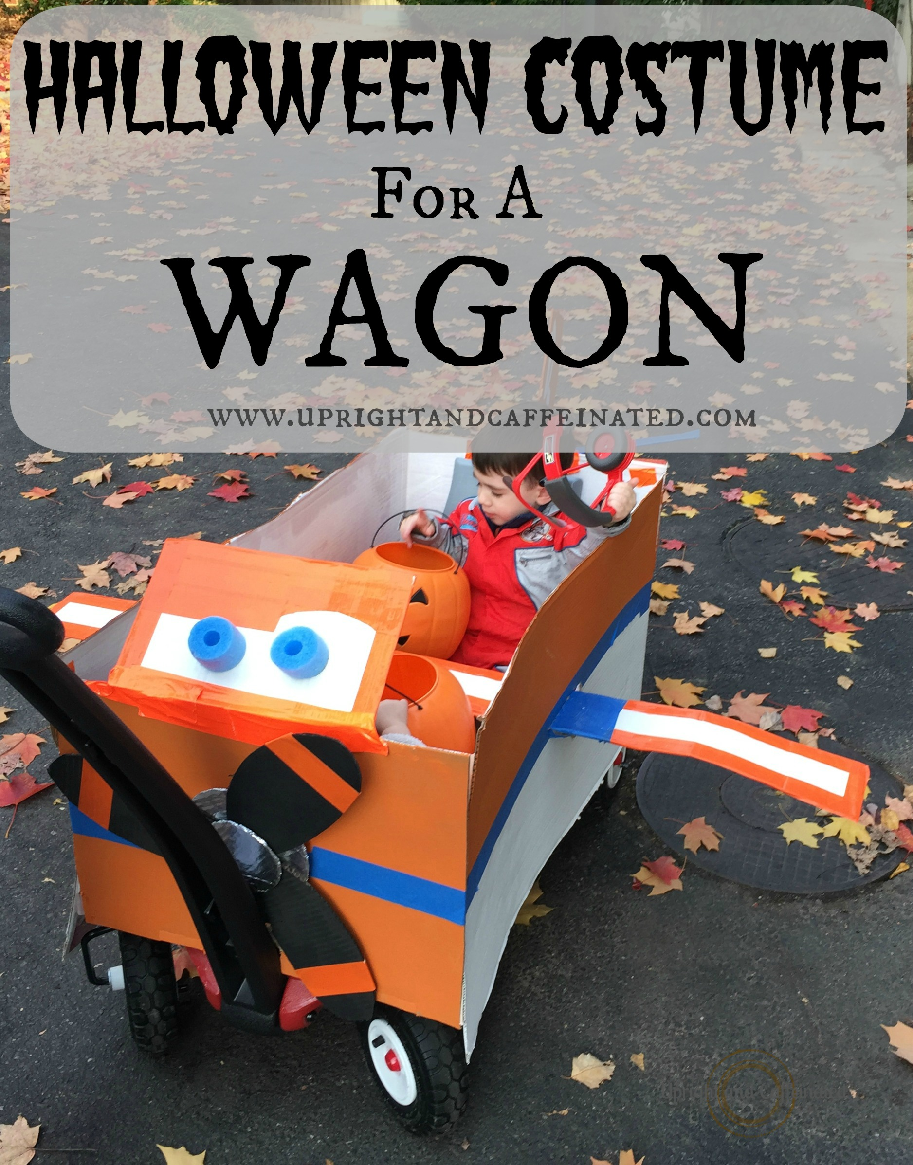Halloween Costume For A Wagon