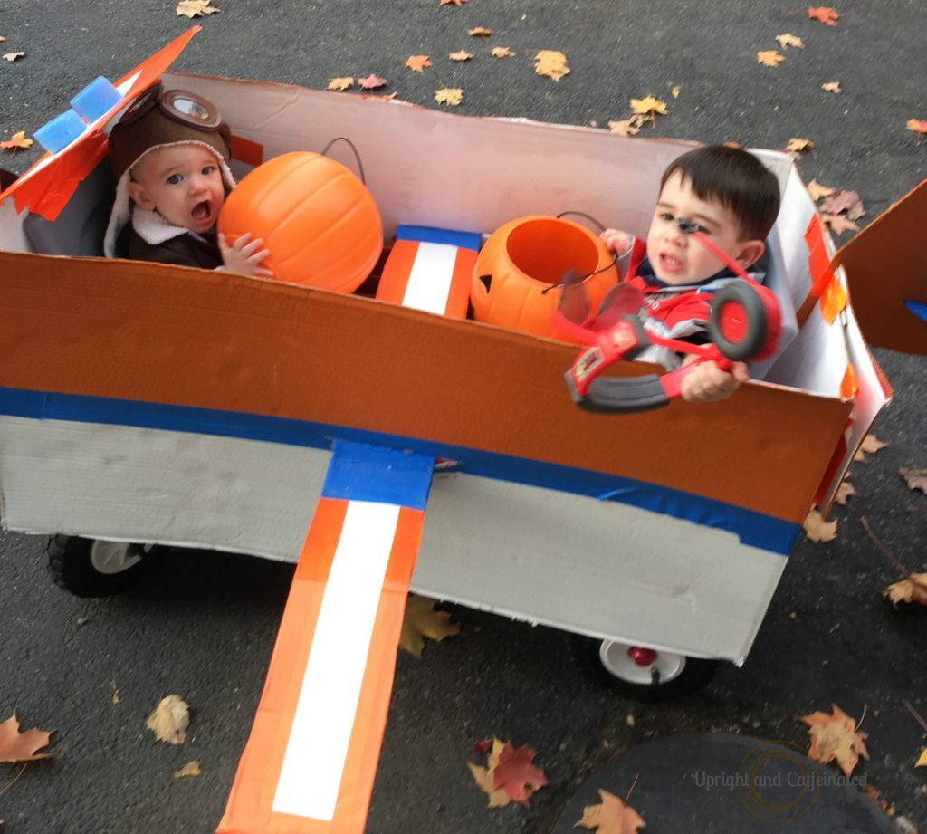 Halloween Costume for a Wagon  sc 1 st  Upright and Caffeinated & Halloween Costume For A Wagon - Upright and Caffeinated