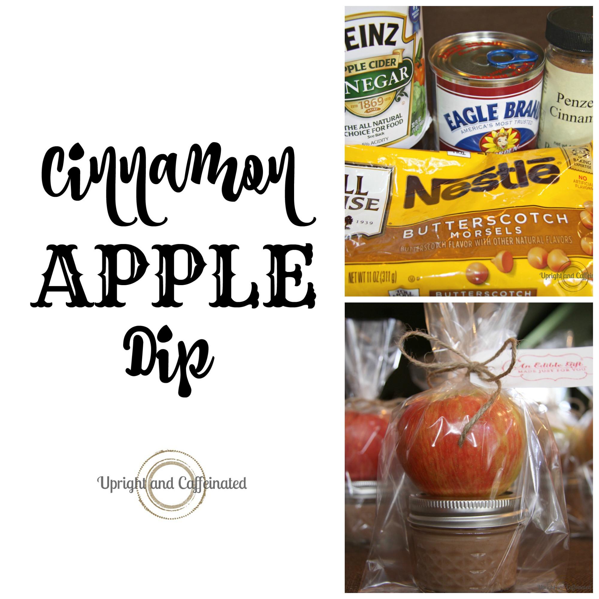 Cinnamon Apple Dip: A Simple Homemade Gift