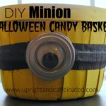 DIY Minion Halloween Candy Basket