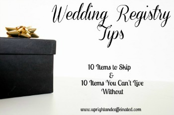 Got engaged? Want to know what NOT to register for?