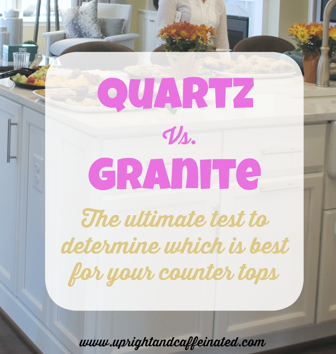 The most comprehensive comparison of the durability between quartz and granite counter tops. The ultimate test of quartz vs. granite! I was shocked to see the results of the wine test!