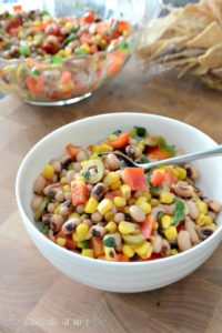 This black-eye-pea salad is perfect for a picnic or potluck. One of the best side dishes for this summer!