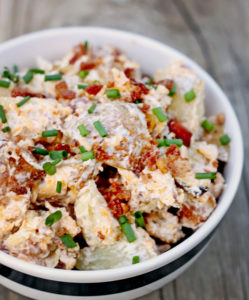 This is one of the best side dishes for any picnic or potluck. This potato salad is a huge hit at events!