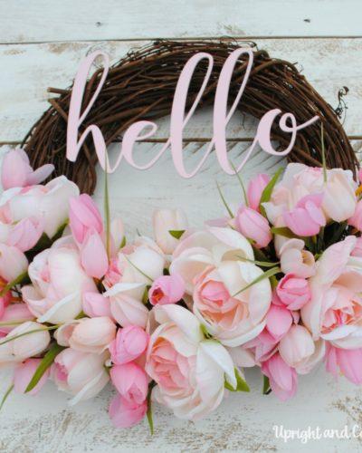 Hello! Summer Wreath
