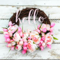 This is the PERFECT summer wreath!