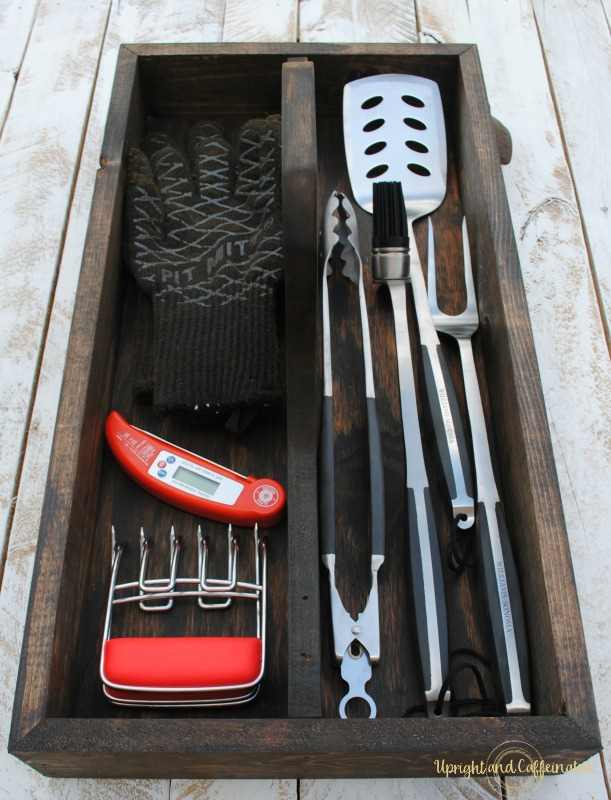 Genial Your Grill Accessories Deserve A Homemade Tool Box!