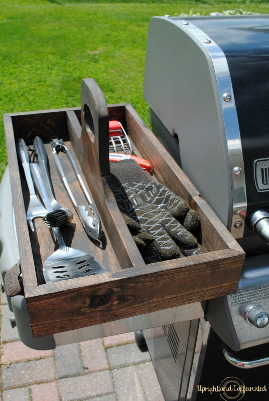 Superbe Great Idea To Organize Grill Accessories! This DIY Grill Tool Box Is  Brilliant!