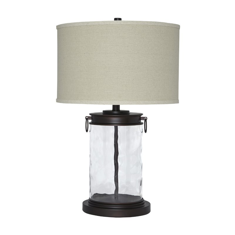 A lamp is a must-have for living room design plans.