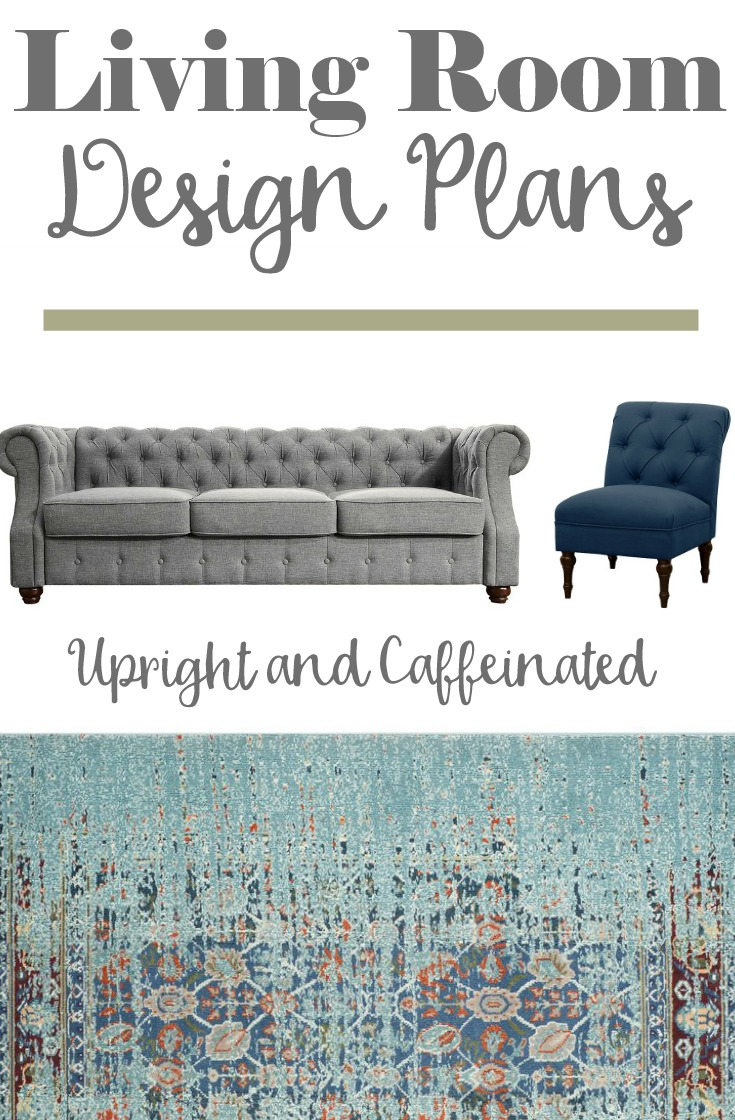 Living room design plans for our new home! You don't want to miss this if you are looking for home decor inspiration.