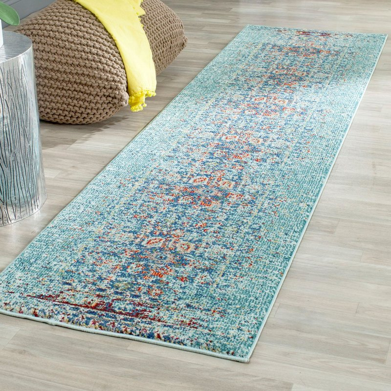 This is one of my favorite 8 x 10 area rugs. I simply love the shades of blues.