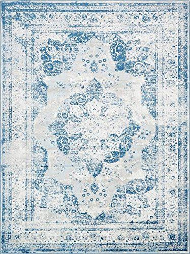 If you are looking for blue 8 x 10 area rugs, consider this one with it's vintage wash.
