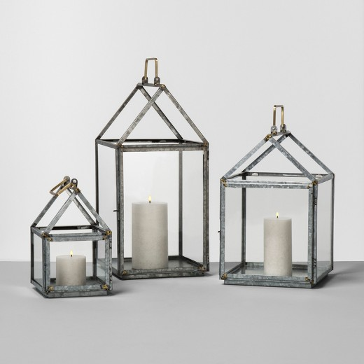 Galvanized House Lanterns {Hearth and Hand with Magnolia}
