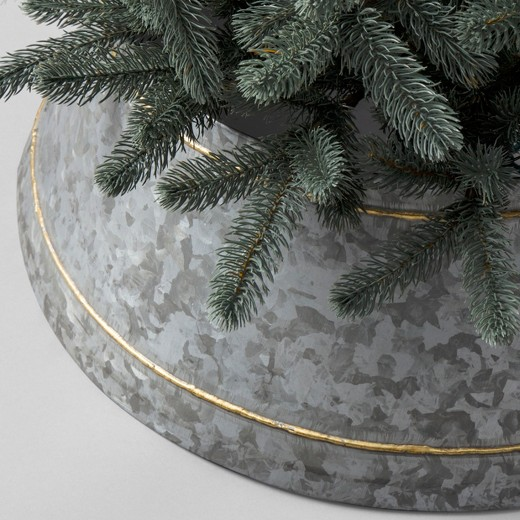 Galvanized Tree Collar {Hearth and Hand with Magnolia}
