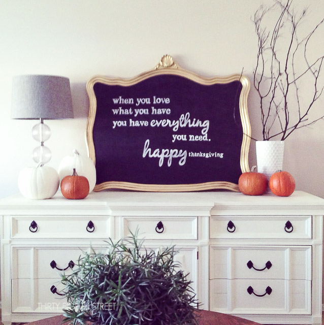 DIY fall decor that you can make