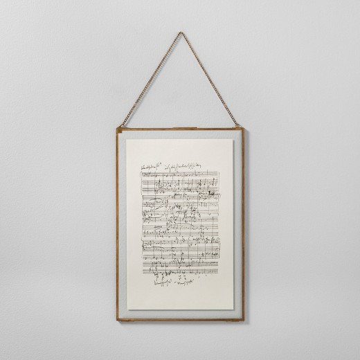 Music Notes Framed Wall Art {Hearth and Hand with Magnolia}
