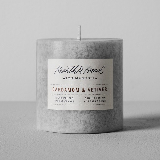 Pillar Candle {Hearth nd Hand with Magnolia}