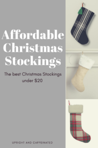 Affordable Christmas Stockings Under $20