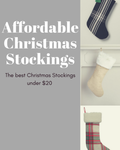 Christmas Stockings Under $20