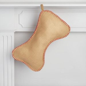 This bone-shaped Christmas sTocking is less than $20