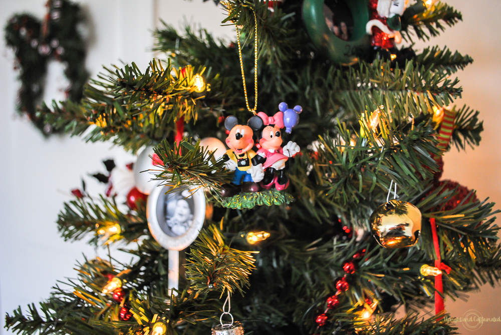 bring home a disney ornament on your next trip and add them to your christmas tree