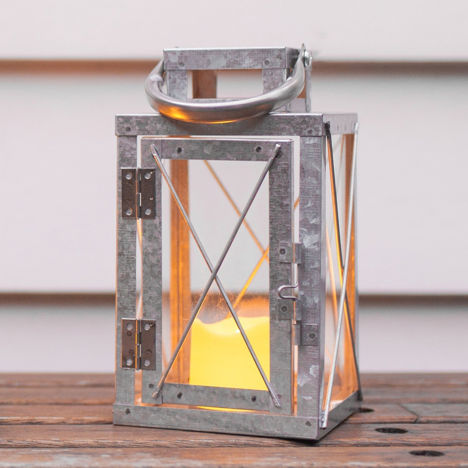 galvanized metal house lantern - HD 1024×1024